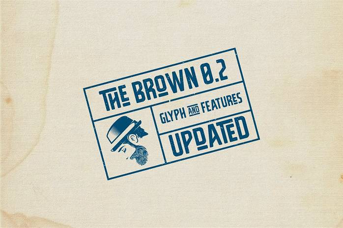 The Brown Typeface