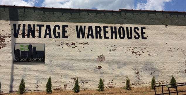 Vintage Warehouse font