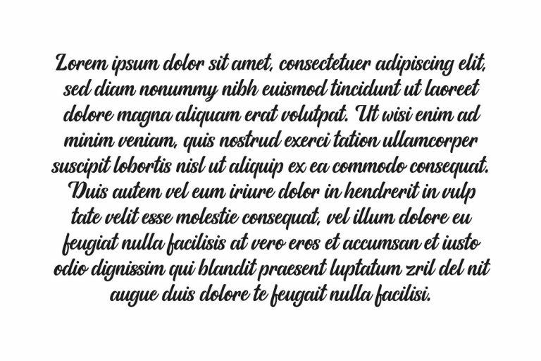 Allora Script Font-2