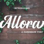 Allora Script Font