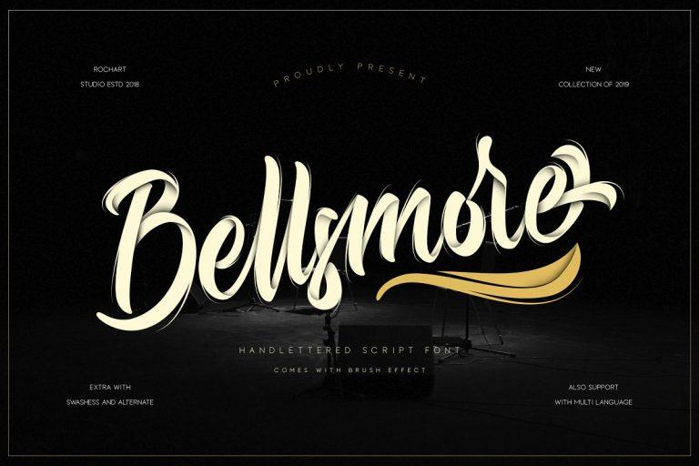 Bellsmore Brush Font