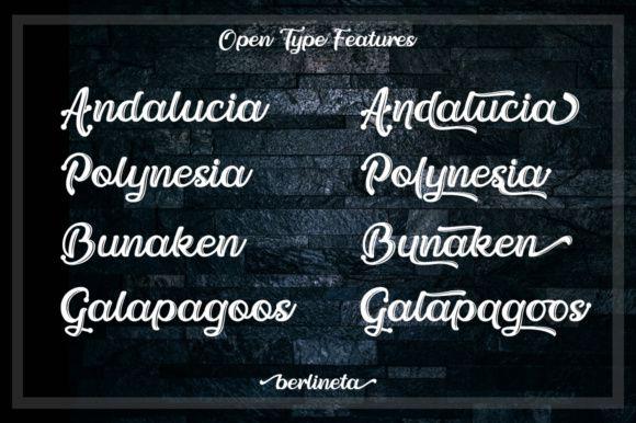 Berlineta Script Font-1