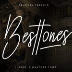 Besttones Signature Font