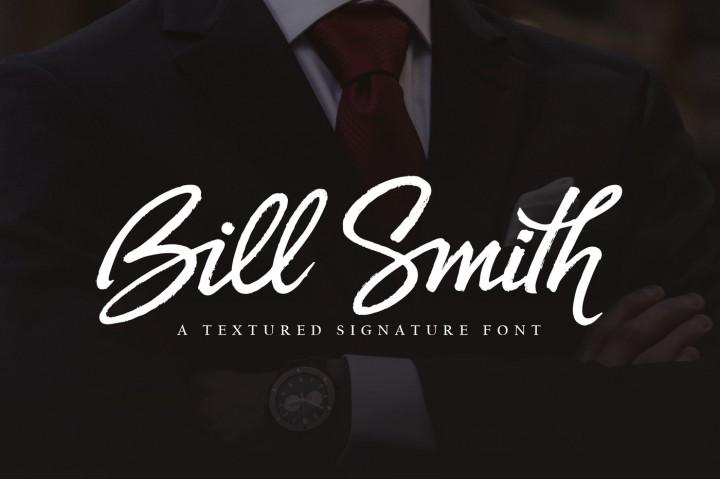 Bill Smith Script Font