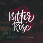 Bitter Rose Brush Font
