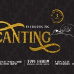 Canting Display Typeface