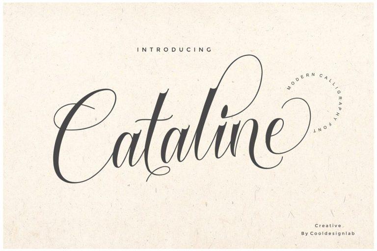 Cataline Script Font