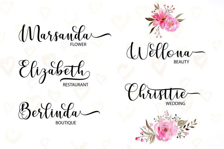 Cerilleta Script Font-1