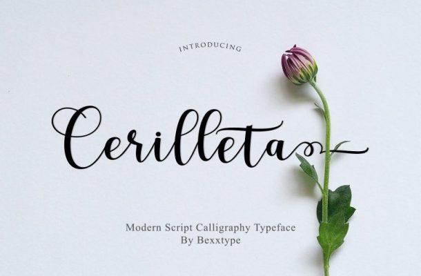 Cerilleta Script Font