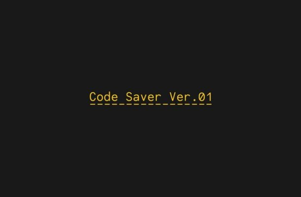 Code Saver Font Family