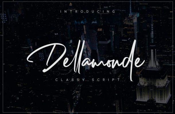 Dellamonde Script Font