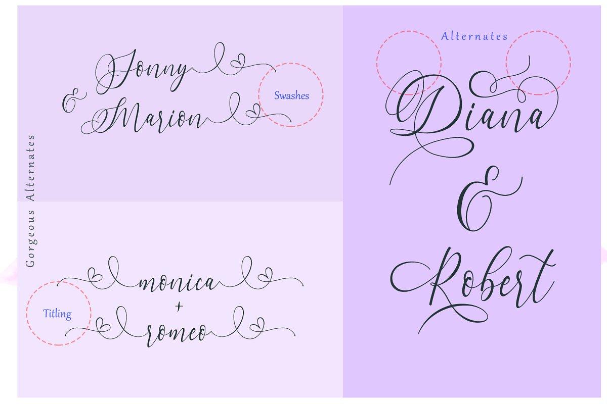 Dialova Script Font-2