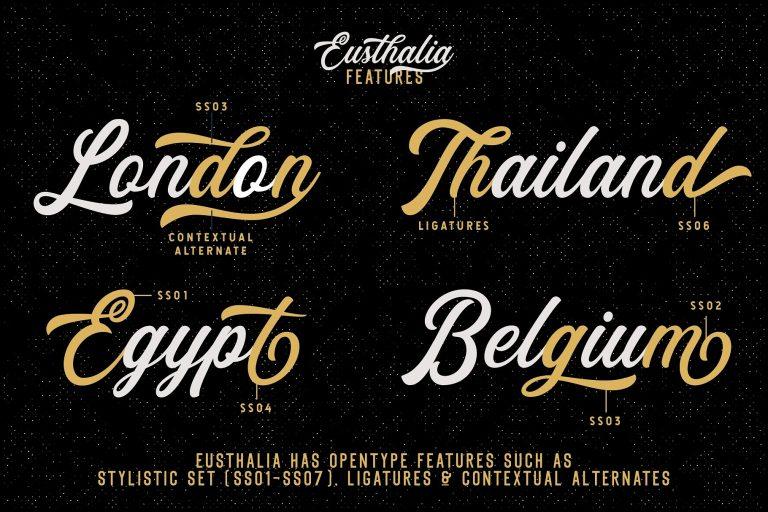 Eusthlia Font Family-1
