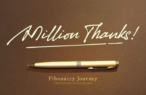 Fibonaccy Journey Script Font