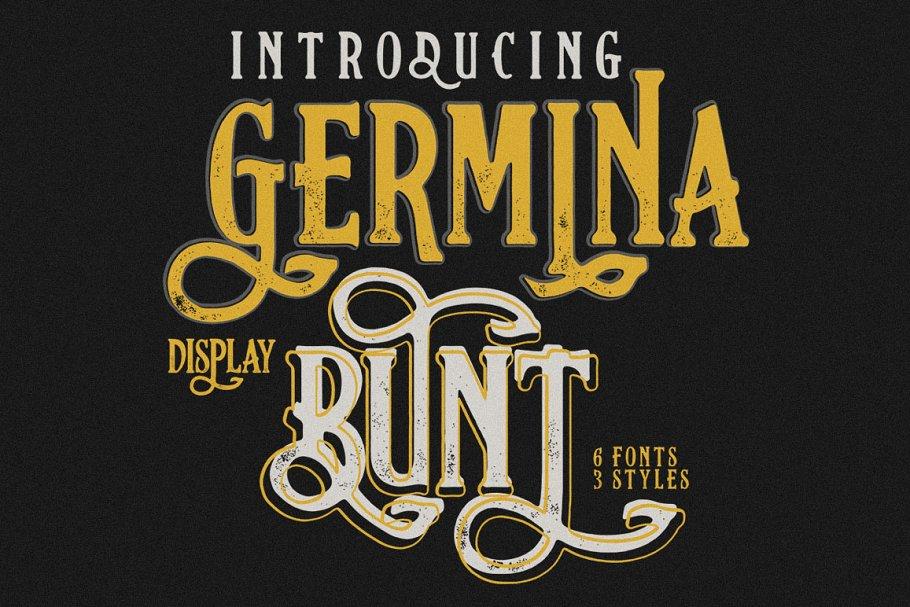 Germinabunt Typeface