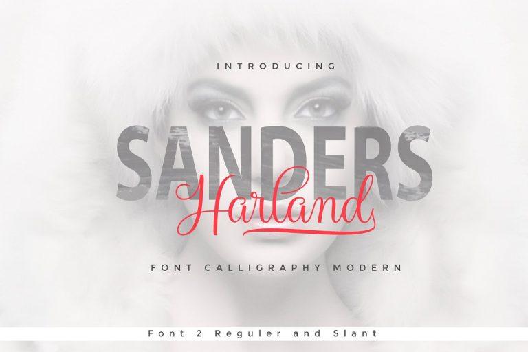 Harland Script Font