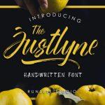 Justlyne Brush Font