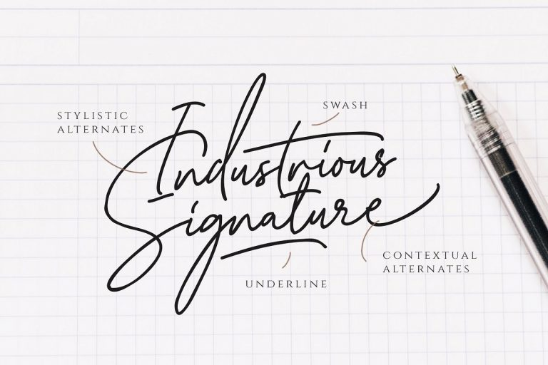 Katherine Signature Font-1