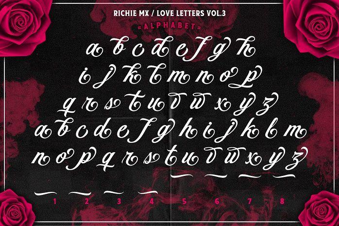 Love Letters Script Font-1