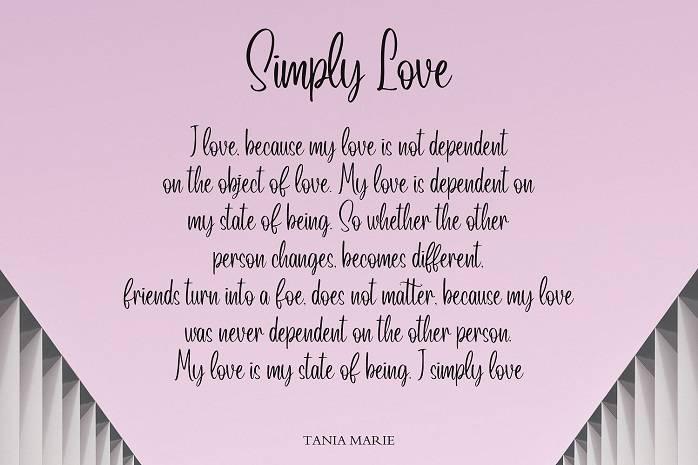 Lovely Script Font-1