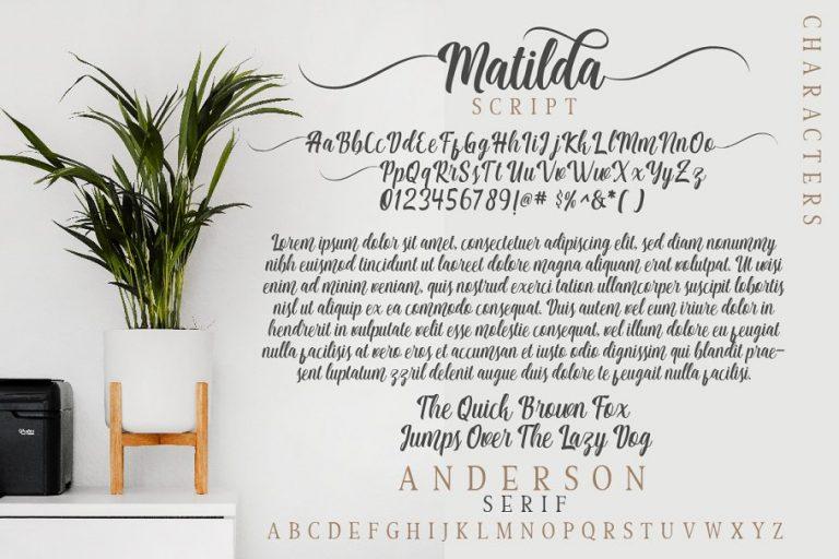 Matilda Anderson Font Duo-2