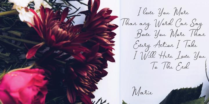 Mellinde Handwritten Font-1