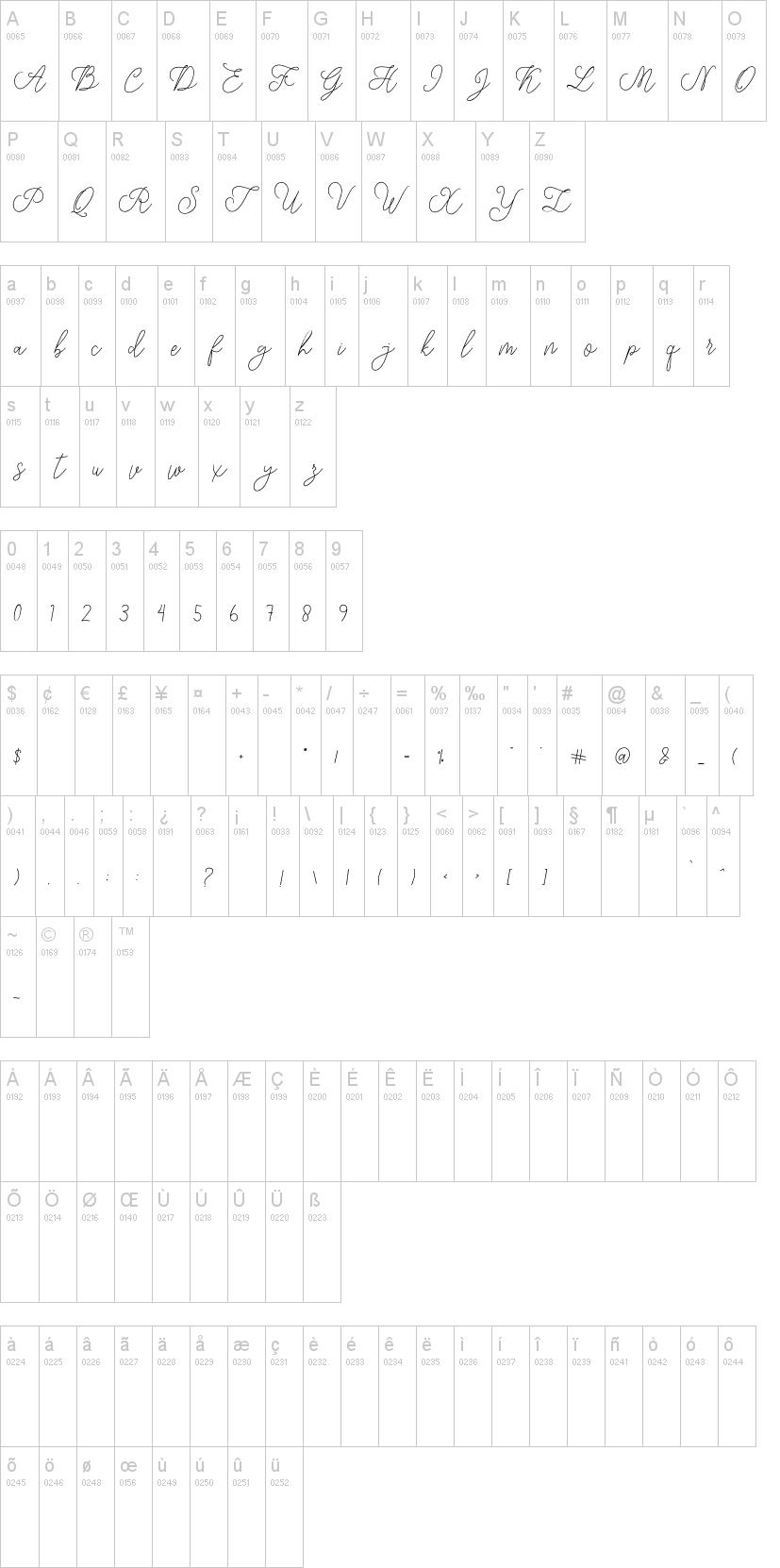 Modista Script Font-2