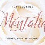 Montalia Script Font