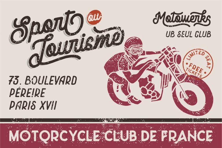 Motowerks Vintage Script Font-1