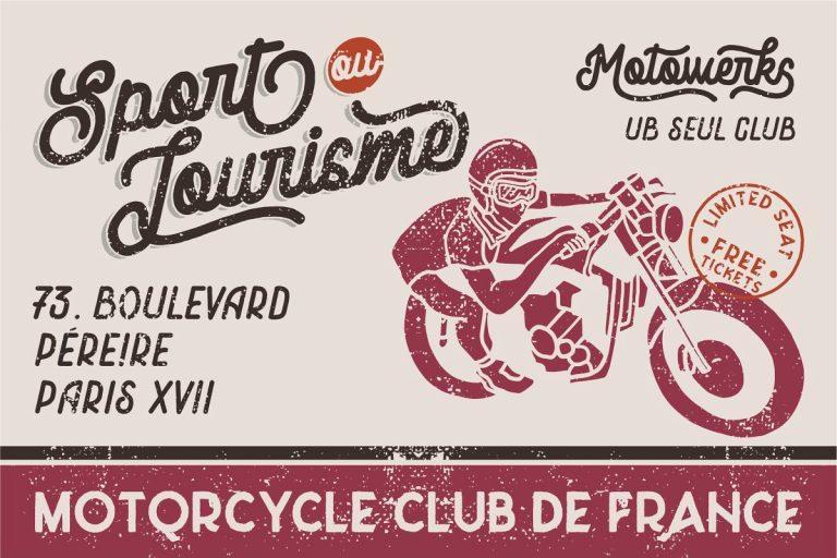 Motowerks Vintage Script Font - Dafont Free