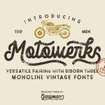 Motowerks Vintage Script Font
