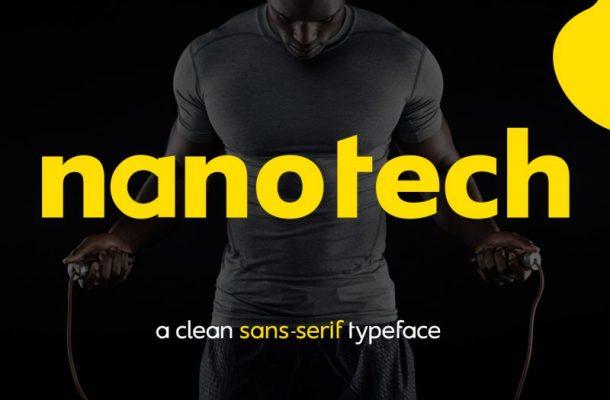 Nanotech LLC Font
