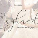 New England Script Font