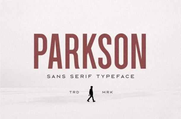 Parkson Sans Font