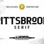 Pittsbrook Serif Typeface