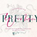 Pretty Woman Font Duo
