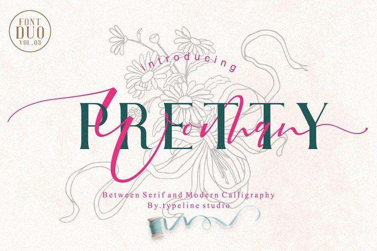 Pretty Woman Font Duo