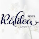 Ralilea Script Font