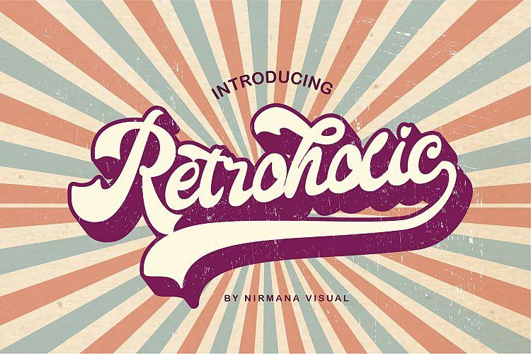 Retroholic Retro Font
