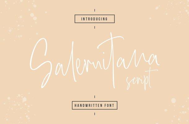 Salernitana Script Font