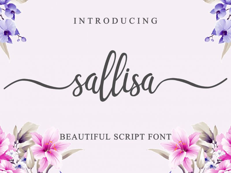 Sallisa Script Font