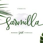 Sarmilla Script Font