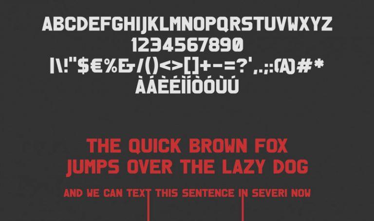 Severi Typeface-1