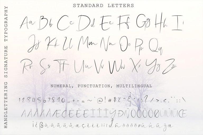 Shallou Signature Font-1