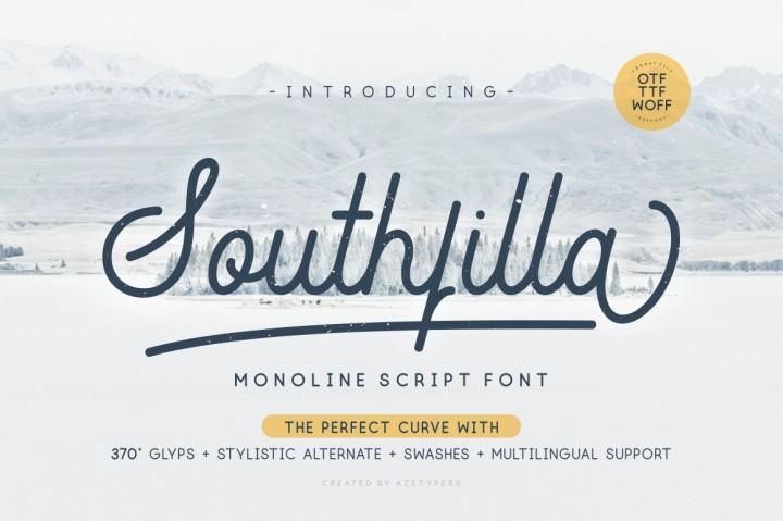 Southfilla Script Font