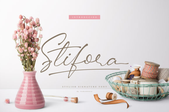 Stifora Script Font