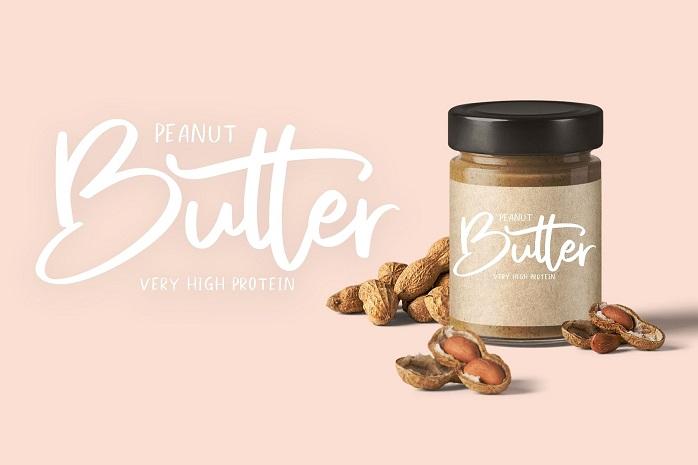 Sweet Buttermilk Font Duo-1