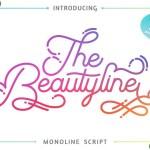 The Beautyline Script Font