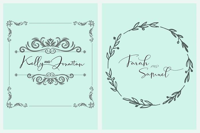 Tifany Script Font-2