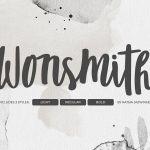 Wonsmith Script Font Trio